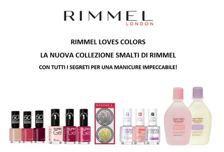 Rimmel Loves Colors – La nuova collezione smalti di Rimmel